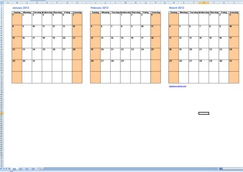multi month calendar template printable multi month calendars free calendar template