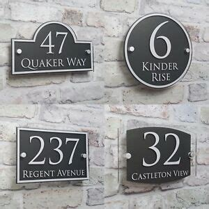 indirizzo casa modern house address plaque door number signs name plates