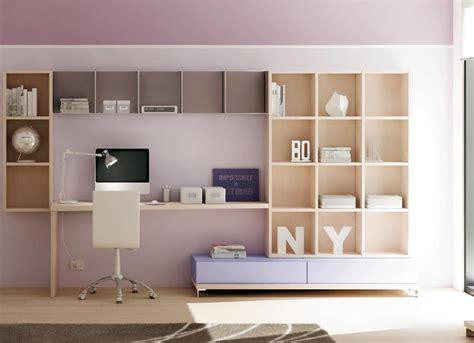 biblioth鑷ue de bureau bibliotheque murale multi cases avec tiroirs dynamic