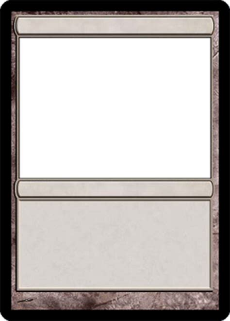 Magic Card Templates by Posts Mylifemaster