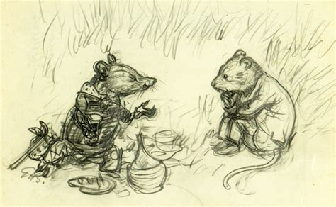 1409532712 originals wind in the willows original pencil sketch for the wind in the willows by