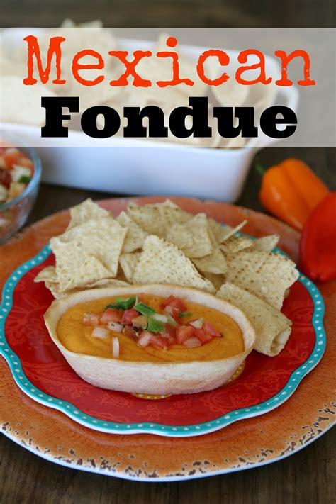 how to make an awesome mexican fondue it s a lovely life