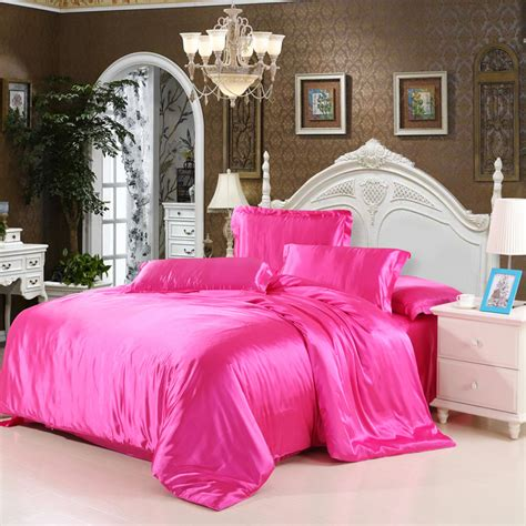 Cheap Luxury Bedding Sets Silk Quilt Duvet Cover Sets Full Cheap Silk Bed Sets