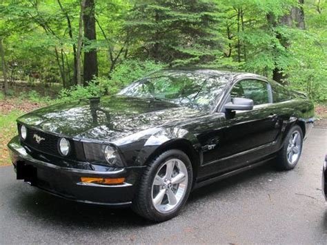 accident recorder 2006 ford mustang user handbook purchase used 2006 ford mustang gt v8 5 speed black with black leather interior in towaco