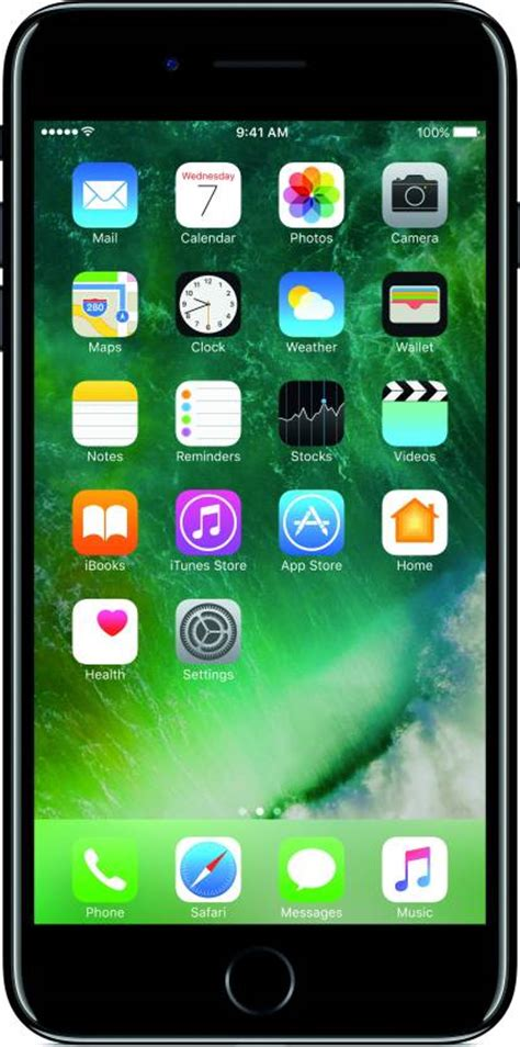 Iphone 7 Plus 128 Gb Jetblack apple iphone 7 plus jet black 128 gb at best