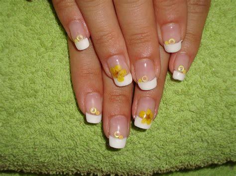 imagenes uñas en frances manicura francesa decoraci 243 n art 237 stica de u 241 as