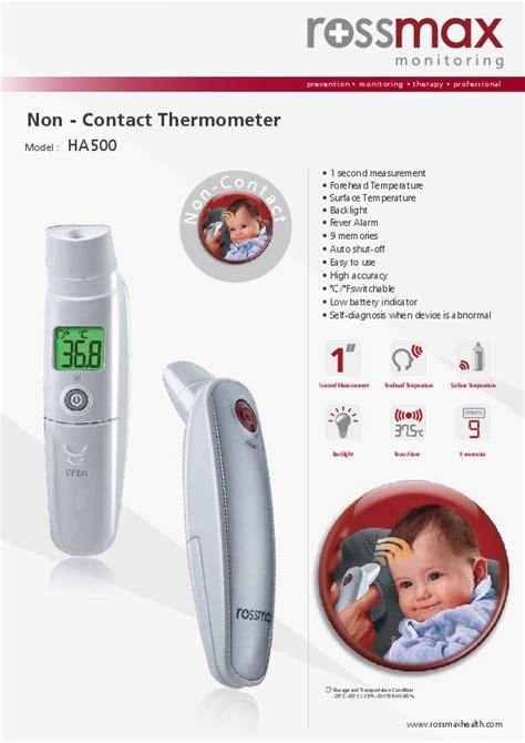 Termometer Laica termomet 235 r mat 235 s temperature pa kontakt me trupin smart