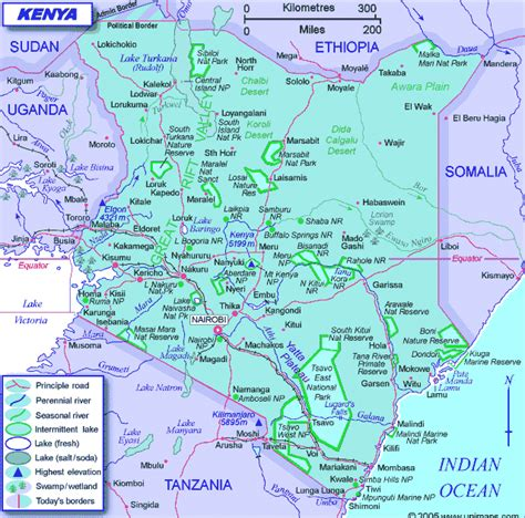 map of kenya maps of kenya