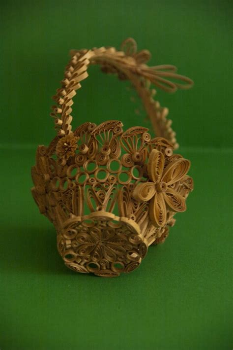 quilling basket tutorial quilling exles basket neli crafts quilling