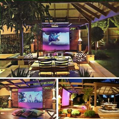 backyard home theater wow cool pics 10 most amazing outdoor home theaters