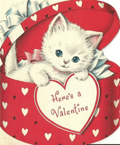 cat valentines card valentines day cards 2018 happy cards 2018