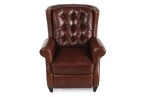 mathis brothers furniture recliners bernhardt pierce leather recliner mathis brothers furniture