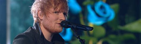 ed sheeran perfect x factor ed sheeran brengt z n nieuwste single perfect live bij
