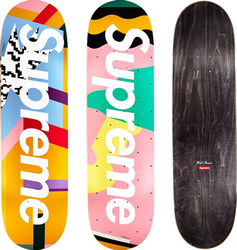 supreme skate shop supreme mendini skateboards original artwork by alessandro
