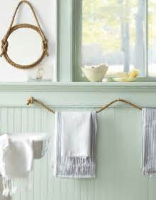 bathroom towel holder ideas diy nautical decor that makes a splash