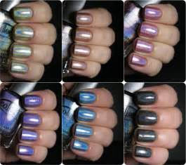 color club holographic color club holo hues 2013 swatches and comparisons
