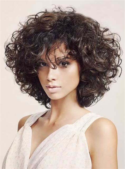 Curly Bob Hairstyle by 1000 Ideas About Curly Bob Hairstyles On