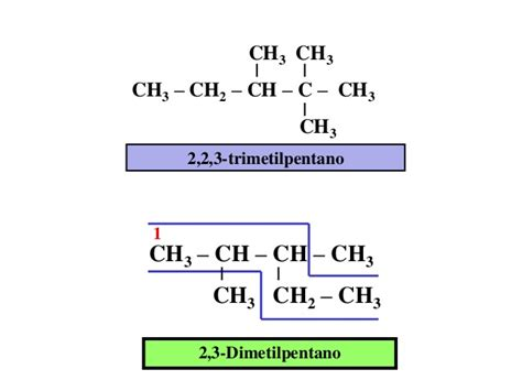 cadenas carbonadas resueltas qu 237 mica org 225 nica ejemplos de alcanos ramificados