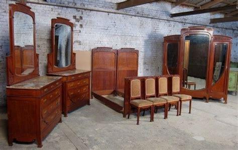 schlafzimmer um 1900 9 teiliges pariser jugendstil schlafzimmer aus mahagoni