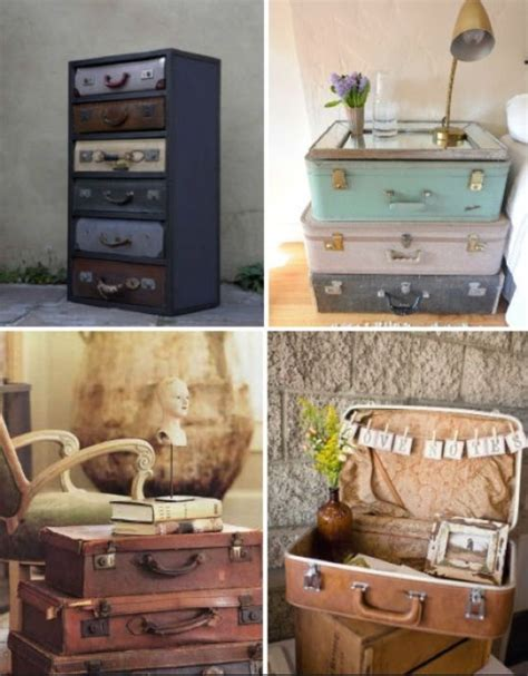 Decorating Ideas Using Suitcases Decor Ideas For Vintage Suitcases Vintage Suitcases