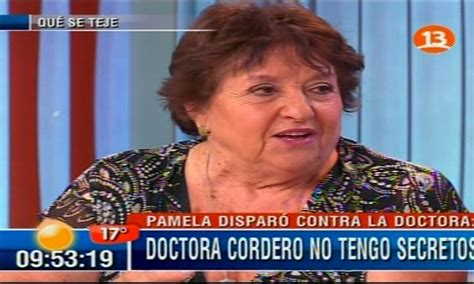 Doctora Cordero Doctora Cordero Ser 225 Parte De Nueva Nocturna De Canal 13