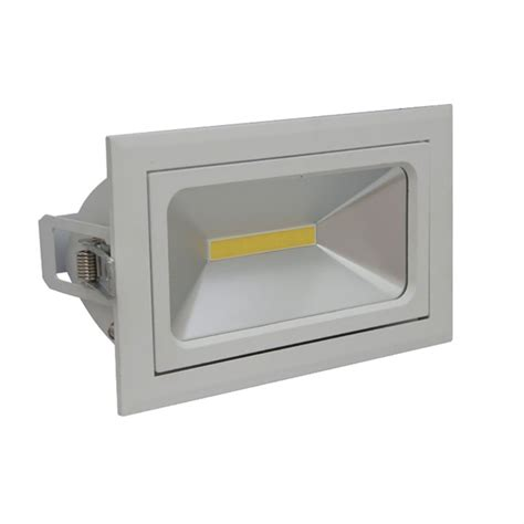 led shop rectangular 35w led shop light at9041 atom lighting