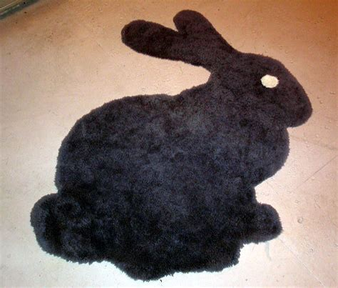 Rabbit Rug by Bunny Rug Transferring An Image To Any Surface With A
