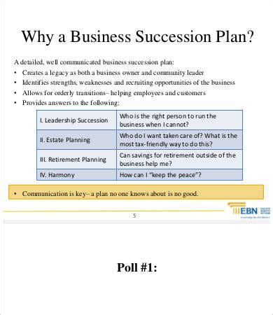 9 Succession Planning Template Free Premium Templates Family Business Plan Template