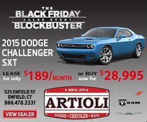 Artioli Dodge Chrysler RAM SRT : Enfield, CT 06082 Car