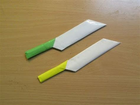 How To Make A Paper Nife - how to make a paper knife easy tutorials