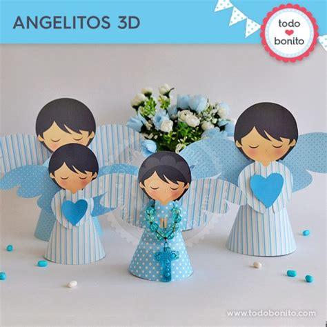 angelito bautizo centro de mesa hecho en goma bautismo angelitas goma angelitos 3d para imprimir 225 ngeles bautizo o comuni 243 n por todo bonito comunion