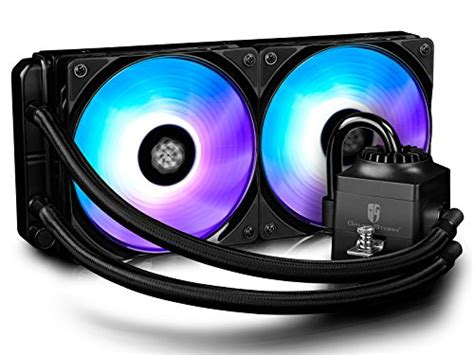 Dijamin Deepcool Captain 120ex Rgb Liquid Cooler deepcool captain 120ex aio cpu liquid cooler with 120mm