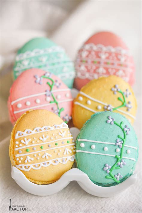 easter egg macarons what should i make for