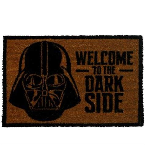 felpudo star wars felpudo star wars welcome to the dark side 40x60