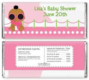 baby shower wrappers templates free a is born white pink baby shower bar