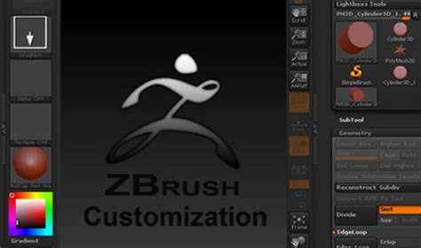 zbrush tutorial interface basic introduction to working with customizing zbrush