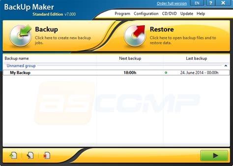 best free backup software 2014 backup maker review free and powerful backup software