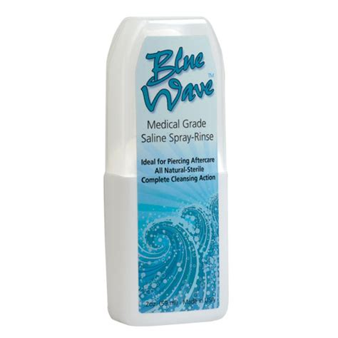 saline solution tattoo removal blue wave saline cleansing solution piercing aftercare ebay