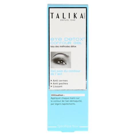 Talika Eye Detox Contour Gel by Talika Eye Detox Contour Gel 18 Milliliter