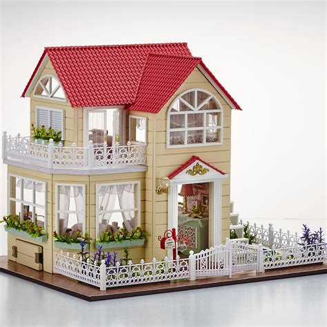 Dollhouse Handmade - cuteroom diy wooden dollhouse princess room handmade