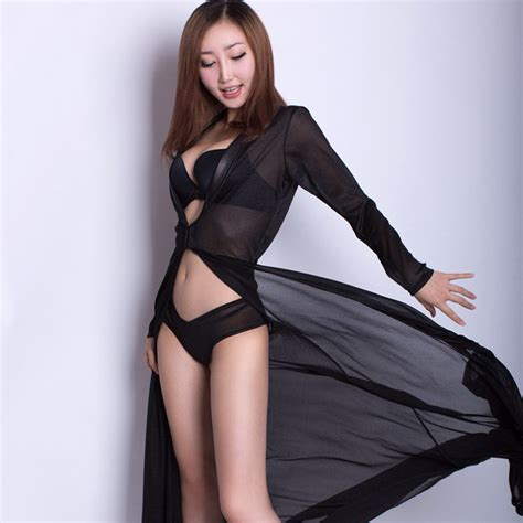 my 5 favorite sheer long gowns the lingerie addict women sexy long dressing night gown sheer transparent