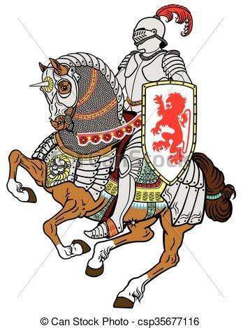 cavallo clipart cavaliere cavallo medievale cavallo corazzato galoppo
