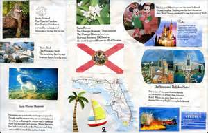 state brochure template 10 best images of state travel brochure template florida