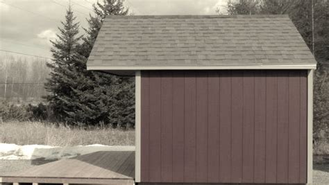 lakeside bunkie shed north country sheds