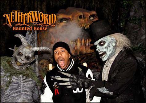 netherworld haunted house ludacris stops by netherworld haunted house netherworld haunted house