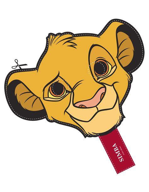 printable hyena mask template image gallery lion king mask template