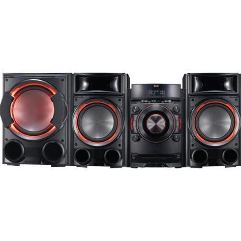 lg cm mini hifi shelf top audio system  wireless