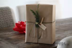 wrapping present sustainable gift wrapping