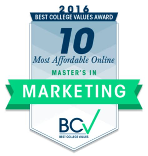 best marketing masters 10 most affordable master s degrees in marketing