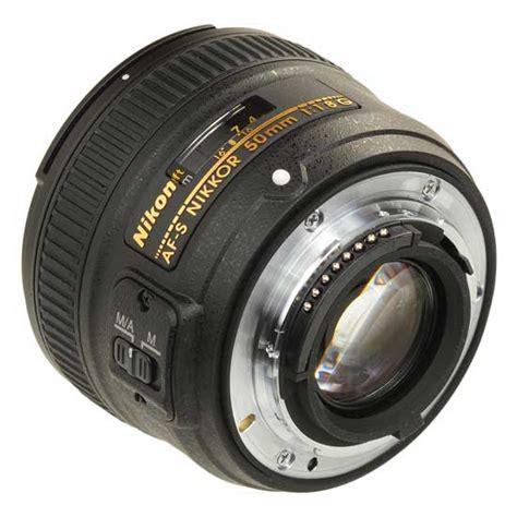 Nikon Af S 50mm F1 8g Lensa Kamera nikon af s nikkor 50mm f 1 8g harga dan spesifikasi